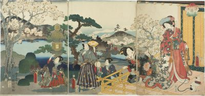 KUNISADA Cherry Blossoms