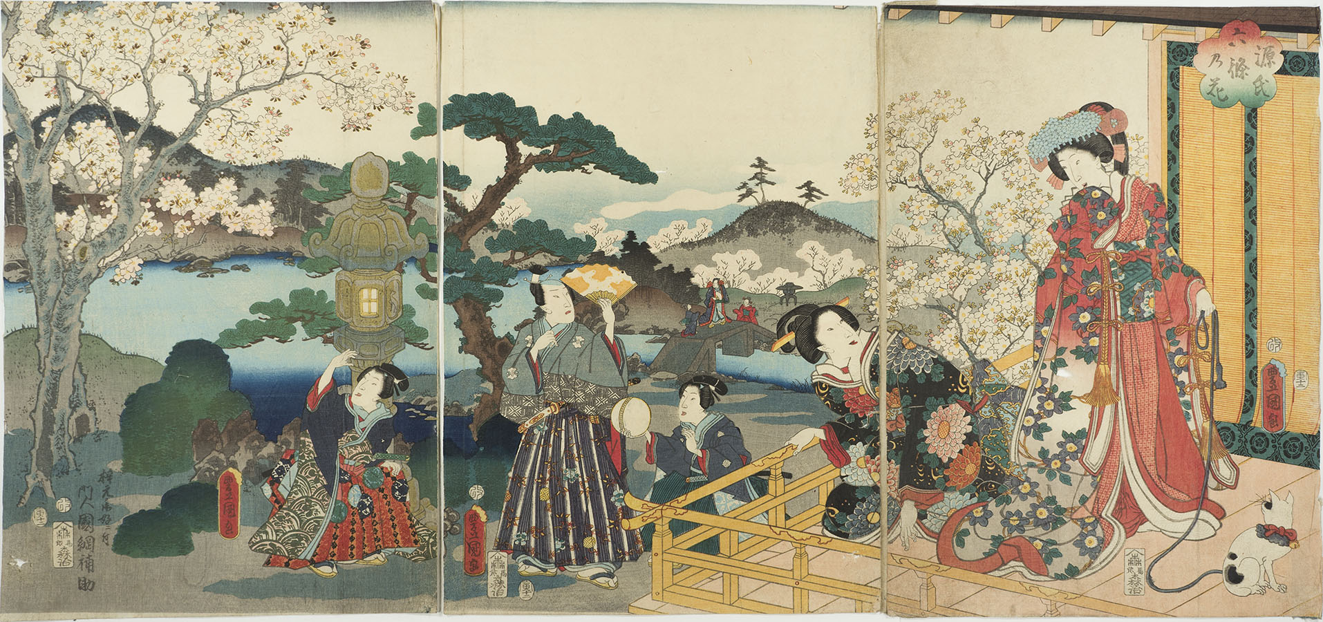 KUNISADA Cherry Blossoms