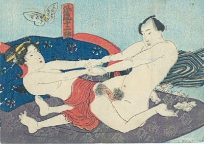 #129 attr to Kuniyoshi (1798-1861)