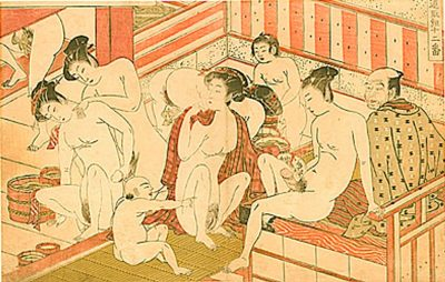 Bathhouse Scene