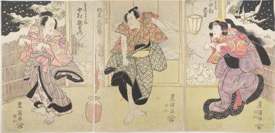 Toyokuni I triptych