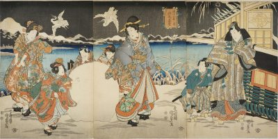 KUNISADA II Triptych