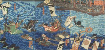 KUNIYOSHI Triptych