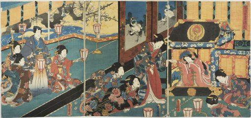 KUNISADA Furyu Azuma Genji