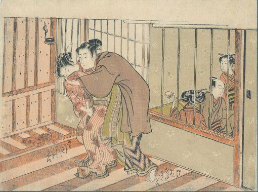 KORYUSAI Maid shunga
