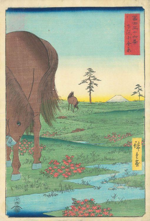 HIROSHIGE Shimosa Kagenohara