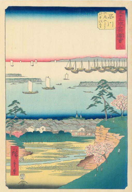 HIROSHIGE Shinagawa