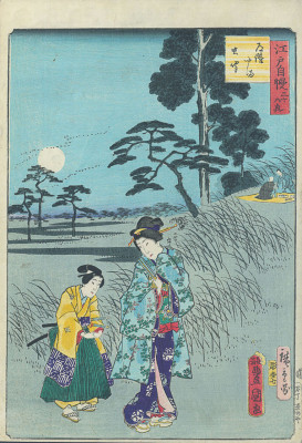 HIROSHIGE II and KUNISADA Dokanyama