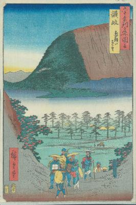 Hiroshige Elephant Mountain