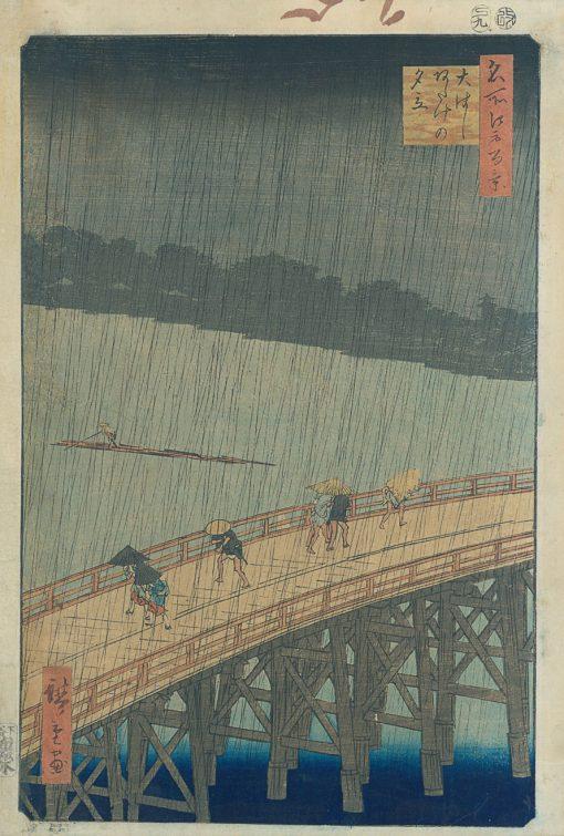 hiroshige-ohashi bridge