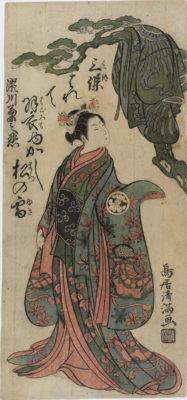 Torii KIYOMITSU - Kikunojo