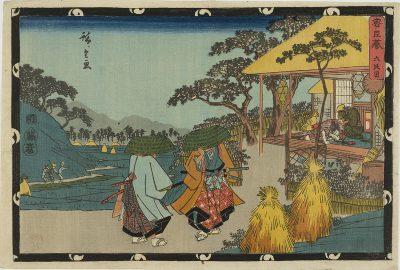 HIROSHIGE Chushingura Act 6