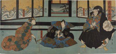 KUNIKAZU Osaka triptych
