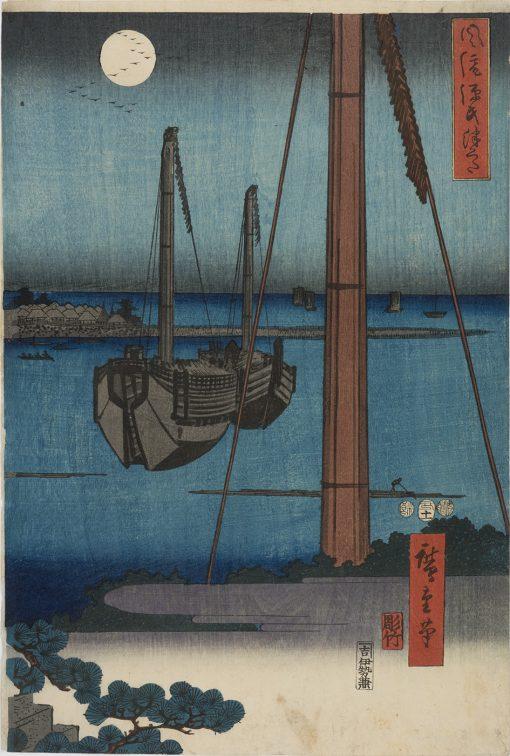 HIROSHIGE Tsukuda