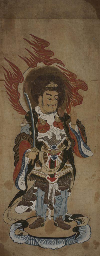 Virudhaka the southern heavenly king