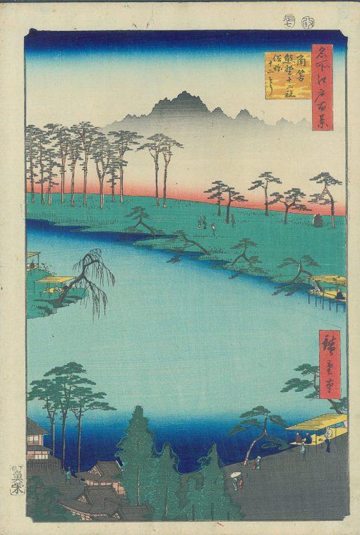 Hiroshige kumano shrine