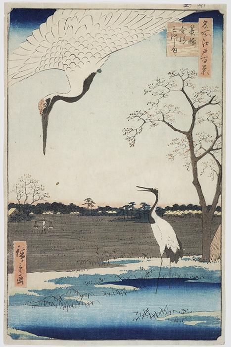 Hiroshige Minowa 100 Edo
