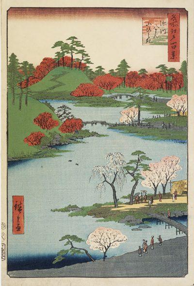 Hiroshige Fukagawa Hachiman Shrine