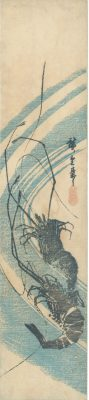 HIROSHIGE Two Shrimp